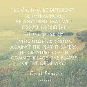 Image search: Cecil Beaton Quotes