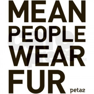 Mean People Wear Fur