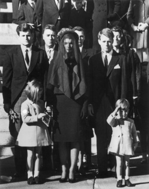 ... his father, assassinated President John F. Kennedy in Washington DC