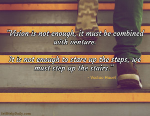 Action Quote: taking that first step