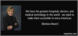 More Barbara Boxer Quotes