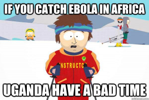 If you catch ebola in Africa…