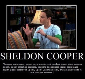 Great Sheldon Cooper Quotes Volume One (The Big Bang Theory)