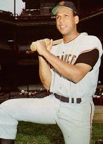 NL BATTER OF THE MONTH JULY ORLANDO CEPEDA SF GIANTS