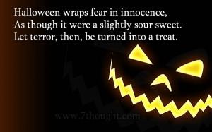 Halloween Sayings