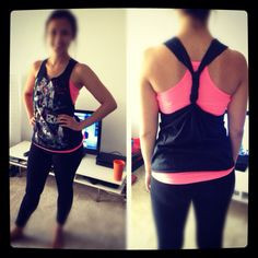 DIY Tank...yep, for zumba class! More