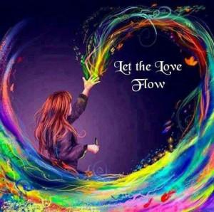 Let the Love flow! ♥