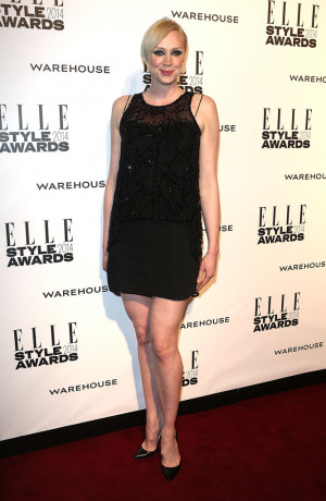 Gwendoline Christie attends the Elle Style Awards 2014 at one ...