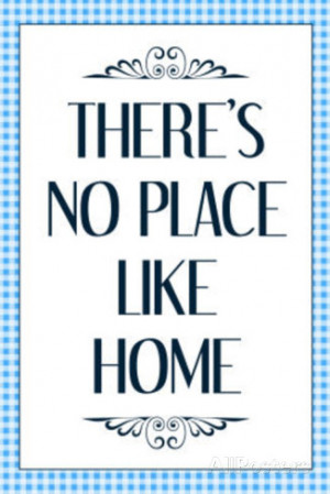 There's No Place Like Home Wizard of Oz Movie Quote Poster Masterprint