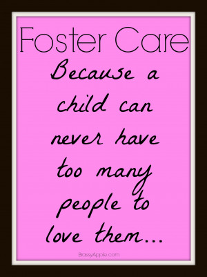 Foster Care Love Quotes