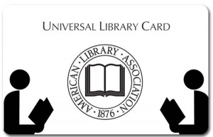 Click here to see more examples of Plastic Library Cards.