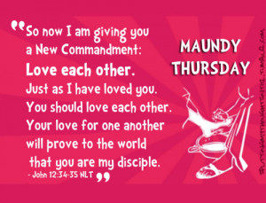holy thursday holy week holy week quotes maundy thursday quotes ...
