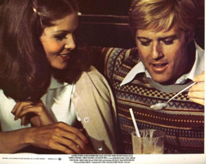 Lois Chiles and Robert Redford, in the Way we Were. ... | Redford