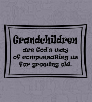 Wall Decals and Stickers - Grandchildren are God's way..