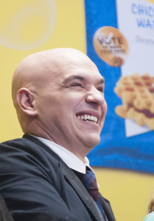 finalists in this photo michael symon michael symon attends the nyse