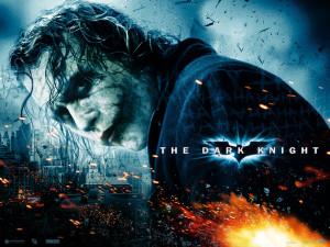 Dark Knight – Heath Ledger Scar Wallpaper
