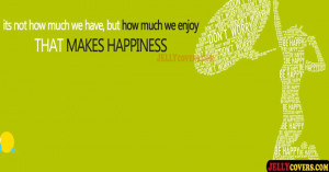 Happiness Quotes Facebook Covers