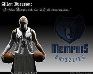 Wallpapers Islamic Quotes Basketball Allen Iverson Memphis Grizzlies ...