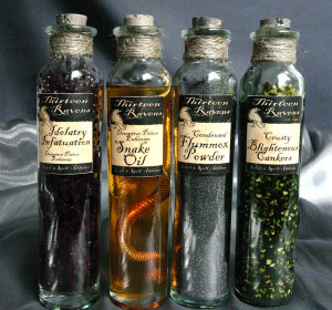 crystal Witch witchcraft magical alchemy wiccan wicca fairies potions ...