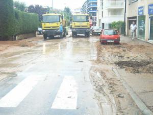 ... / Inondations septembre 2009 / Rue jean Monnet / Rue Jean Monnet 06