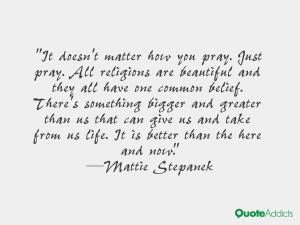 Mattie Stepanek Quotes