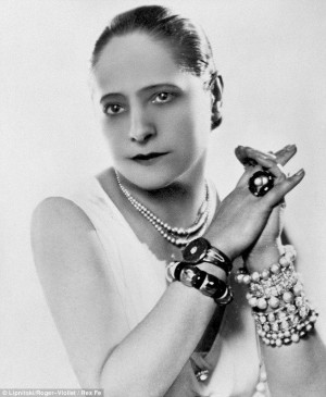 Beauty queen: Helena Rubinstein developed her own make-up range and ...