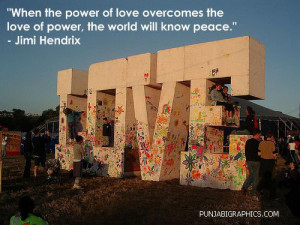 Love Quote: The World Will Know Peace…