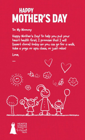 the sample mother s day ecards love to all parts