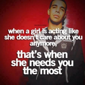 Quotes about she doesnt care about you