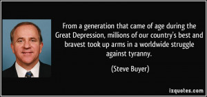 Quotes From the Great Depression