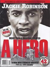 Jackie Robinson magazine Inspiring quotes Baseball Politics Civil ...