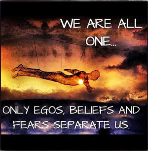 We Are All One…