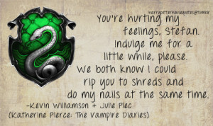 ... Quote by Katherine - harry-potter-and-the-vampire-diaries Fan Art