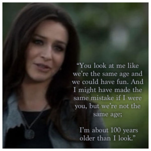 Private Practice .. Love this quote from Amelia Shepherd