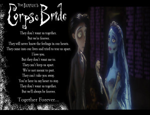 Corpse Bride Quotes Love Corpse bride: together by