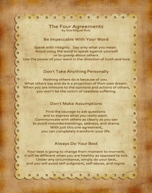 the four agreements pdf ebook