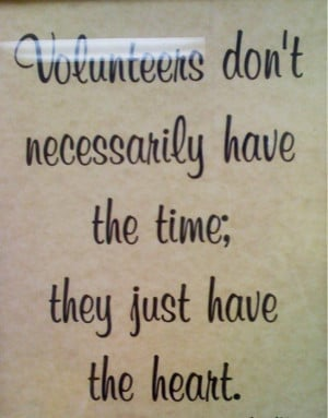 thank you volunteers quotes