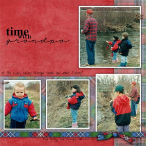 Fishing Quotes for Scrapbooking | Fishing With Grandpa Page...