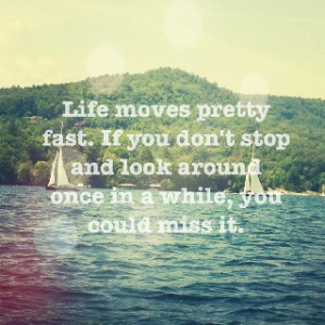Ferris Bueller's Day Off quote :))
