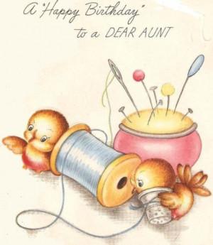 Happy Birthday, Aunt Genie!