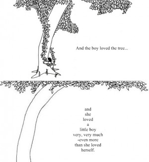 shel silverstein The Giving Tree my favorite book