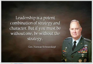 Norman Schwarzkopf on Leadership
