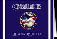 Military Congratulations Navy Promotion card - Product #1034497