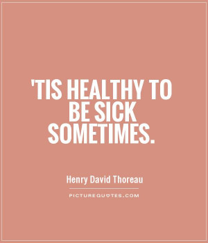 Being Sick Quotes