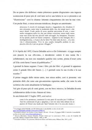 Grazia Deledda E La Terza Pagina Del Corriere Della Sera 1909 1936 ...