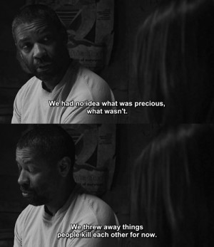 Precious Movie Quotes Denzel washington quotes