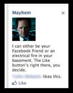Mayhem allstate quotes