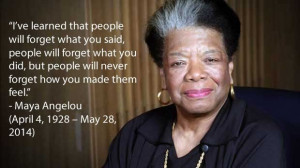 Team Building Quotes by Maya Angelou