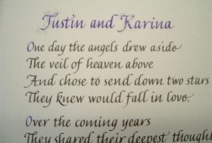 Here's the Links to the sections of our Wedding Anniversary Poem ...