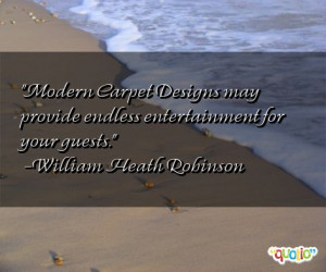 Modern Carpet Designs may provide endless entertainment for your ...